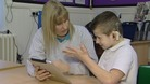 The signed stories App tells some of the most popular children's books in sign language.