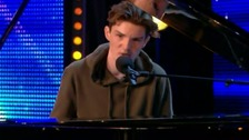 16-year-old Harry Gardner brings Britain's Got Talent judges to tears.