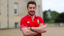 Jedburgh's Greig Laidlaw joins up with the British & Irish Lions