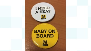 Baby on board badges scheme for Metro
