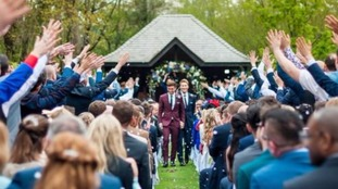 Tom Daley and his new husband Dustin Lance Black share first pictures from their wedding