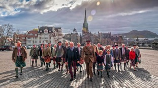 Scotland's clans descend on Edinburgh Castle