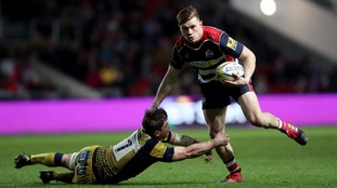 Gloucester sign Woodward from Bristol