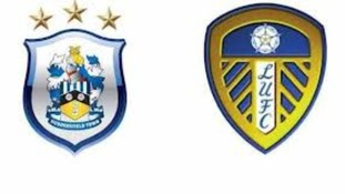 Huddersfield Town and Leeds United's logos