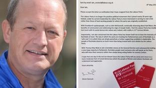 Simon Danczuk resigns from Labour Party