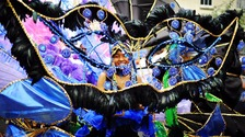 A performer at St Pauls Carnival in 2011