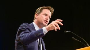 Liberal Democrats' Nick Clegg