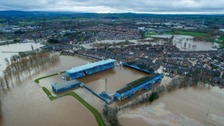 Carlisle in the aftermath of Storm Desmond