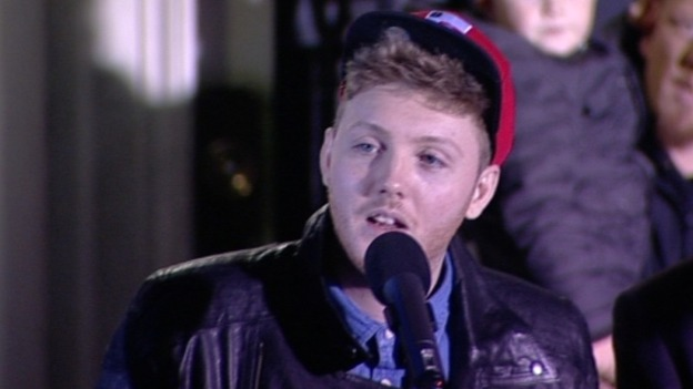 X Factor finalist James Arthur from Saltburn will sing at Middlesbrough Town Hall today, December 4.