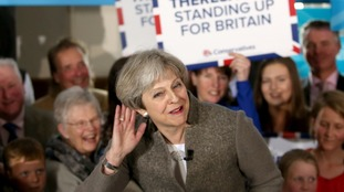 Theresa May will wait to hear how her party's apparent u-turn will be received by voters.