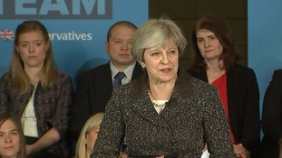 May denies reheating Labour policy as she explains Tory bid for cap to stop 'rip off' energy prices