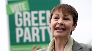 Caroline Lucas said Labour and the Lib Dems had 'betrayed the people they represent'.