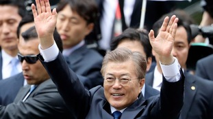 New South Korean president willing to visit Pyongyang