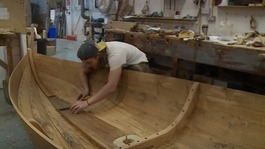 Replica of 900-year-old boat takes centre stage at Chelsea Flower Show