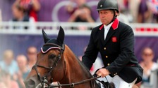Olympic gold medallist Nick Skelton will pick up his OBE today.