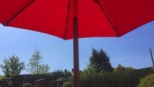 Sunny skies over Rotherham Wednesday