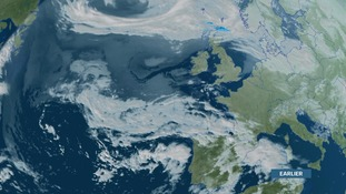Unsettled, thundery weather over Spain/Portugal will spread north over the coming days