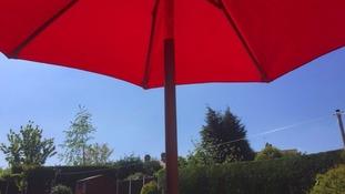Sunny skies over Rotherham on Wednesday