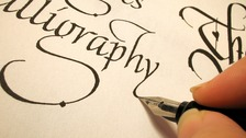 Attendees will be able to try Calligraphy