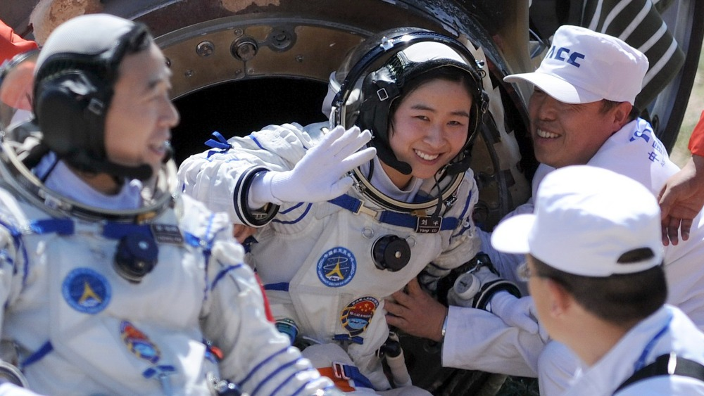 astronauts in space china - photo #13