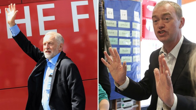 Both Labour and the Lib Dems unveiled their education election pledges.