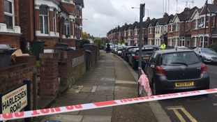 Five people were arrested from an address in Willesden, north London.