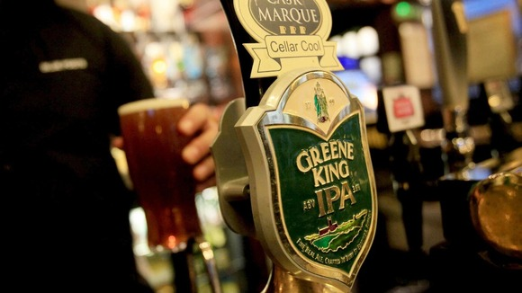 Greene King&#x27;s profits rise by 7%