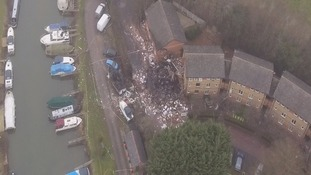 Seven people were left homeless in the explosion in Oxford