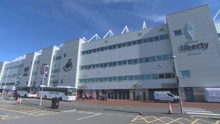 Swansea slam supporters selling tickets paid for by players