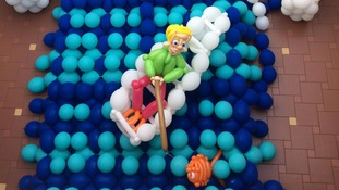 Balloon sculpture