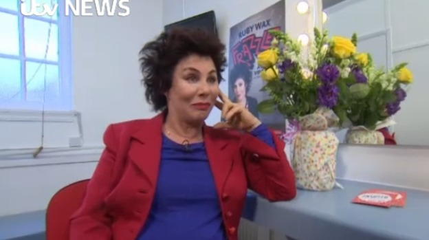 Ruby Wax Opens Up About Depression Meridian Itv News
