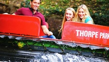 The Rumba Rapids ride at Thorpe Park