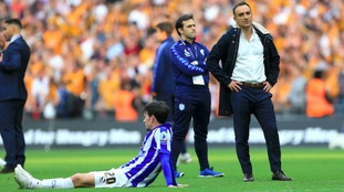 Carlos Carvalhal lost 1-0 to Hull City in the playoff final in his first season in charge