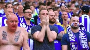 Sheffield Wednesday fans tasted defeat in their first visit to the new Wembley