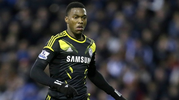 Daniel Sturridge has seen little game time for Chelsea this season
