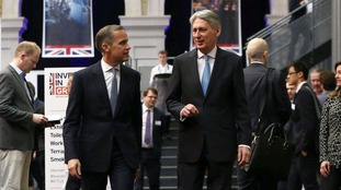 Governor of the Bank of England Mark Carney and Chancellor Phillip Hammond, pictured earlier this year.