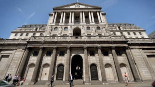 File photo of the Bank of England.