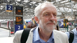 Labour leader, Jeremy Corbyn