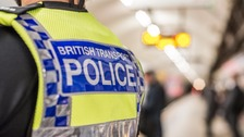 British Transport Police are appealing for information after priest punched in face