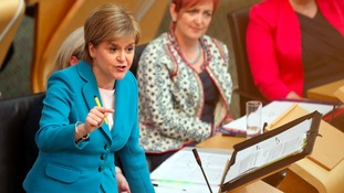 Subdued First Minister's questions reveals election issues ahead