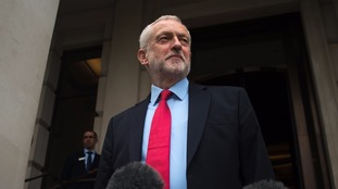 Jeremy Corbyn confirmed the Labour party manifesto had been approved