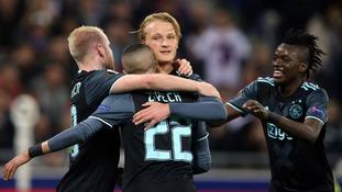 Europa League match report: Lyon 3-1 Ajax (Agg: 4-5)