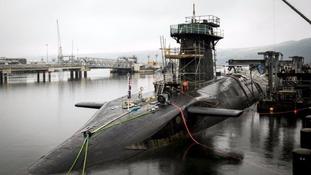 Vanguard-class submarine HMS Vigilant