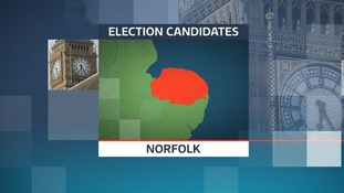 There are 40 candidates standing in the nine Norfolk constituencies in the 2017 General Election.