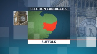 There are 38 candidates after your vote in the 2017 General Election in the seven constituencies in Suffolk.