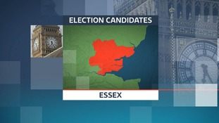 There are 96 candidates standing in the 2017 General Election in the 18 constituencies in Essex.