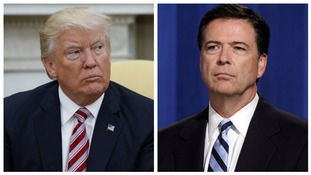 Trump says Comey 'better hope there are no tapes' in threat to fired FBI chief
