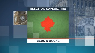 There are 50 candidates standing in the six constituencies in Bedfordshire along with Milton Keynes, Buckingham and Aylesbury.