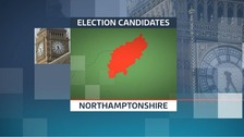 There are 35 candidates standing in the 2017 General Election in the seven constituencies in Northamptonshire.