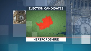 There are 32 candidates after your vote in the 2017 General Election in the seven constituencies in the northern part of Hertfordshire.